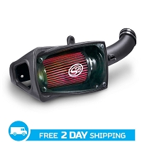 2011-2016 Super Duty F250 & F350 6.7L Diesel S&B Cold Air Intake System (Cotton Filter)