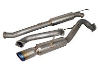 2014-2015 Fiesta ST Injen Cat-Back Single-Exit Exhaust System w/ Rolled Tip (304 Stainless)