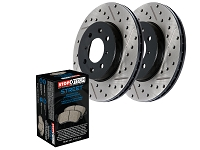 2015-2017 F150 StopTech Front Drilled & Slotted Street Axle-Pack Brake Kit
