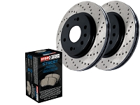 2015-2017 F150 StopTech Front Drilled Street Axle-Pack Brake Kit