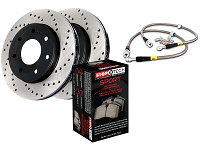 2010-2011 F150 StopTech Rear Drilled Sport Axle-Pack Brake Kit