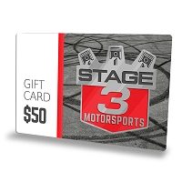 $50 Stage 3 Motorsports Gift Card