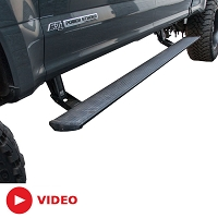 2017 F250 & F350 AMP Research PowerStep Plug-N-Play Running Boards
