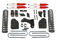 2008-2016 F250 & F350 4WD Tuff Country Leveling Kit w/ SX8000 Shocks (6