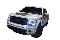 2009-2014 F150 / SVT Raptor Oracle LED Headlight Halo Kit