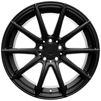 2015-2017 Mustang 19x9.5 UP100 10 Spoke Wheel - Matte Black