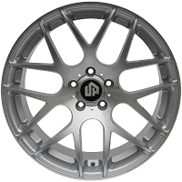 2015-2017 Mustang 19x8.5 UP720 Classic Mesh Wheel - Silver Machined Face