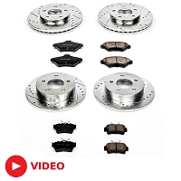2005-2010 Mustang V6 Power Stop Complete Z23 Brake Kit