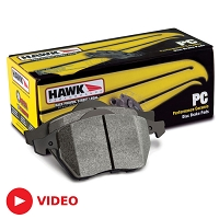 2005-2014 Mustang Hawk Performance Ceramic Rear Brake Pads