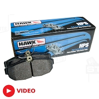 2005-2014 Mustang Hawk HPS Rear Brake Pads
