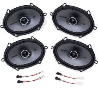 1999-2007 F250 & F350 Super Duty Kicker KSC684 6x8 Speaker Upgrade Kit (CrewCab & SuperCab)