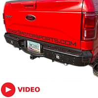 2015-2017 F150 Rogue Racing Revolver Rear Off-Road Bumper