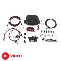 Air Lift Load Controller II On-Board Air Compressor System - Single Path (Standard Duty)