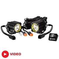 KC HiLites FLEX Off-Road LED Modular Lighting System Spread Beam (Pair)