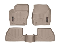 2013-2016 Focus ST WeatherTech Digital Fit Front & Rear Floor Liners (Tan)