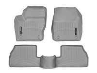 2013-2016 Focus ST WeatherTech Digital Fit Front & Rear Floor Liners (Grey)