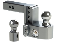 Weigh Safe 4-Inch Drop Hitch w/ Built-In Scale - 2