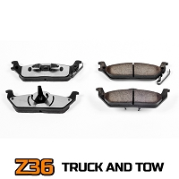 2004-2011 F150 Power Stop Z36 Extreme Truck & Tow Rear Brake Pads
