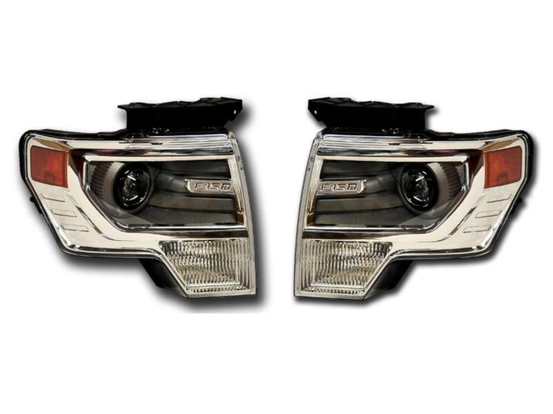 Install Hid Headlights 2014 Ford F150