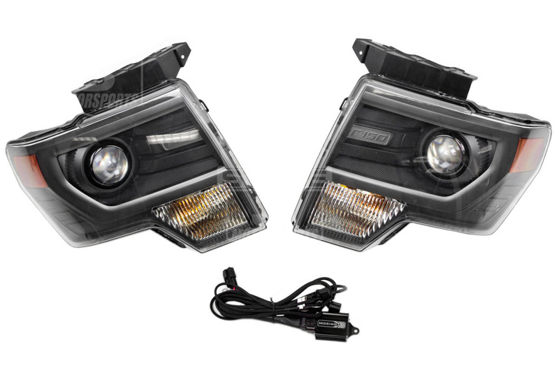 Oem svt raptor hid projector headlights now available for 2009 2014 f150s