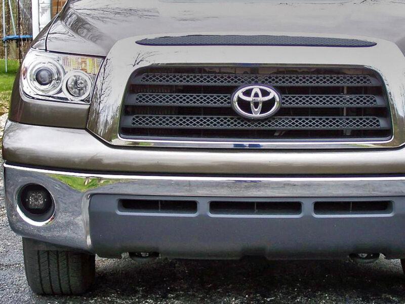 2010 2013 toyota tundra rigid industries fog light mounting kit 40155