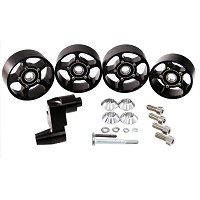 2003-2004 SVT Cobra UPR 4-Piece Pulley & Snub Idler Bracket Kit