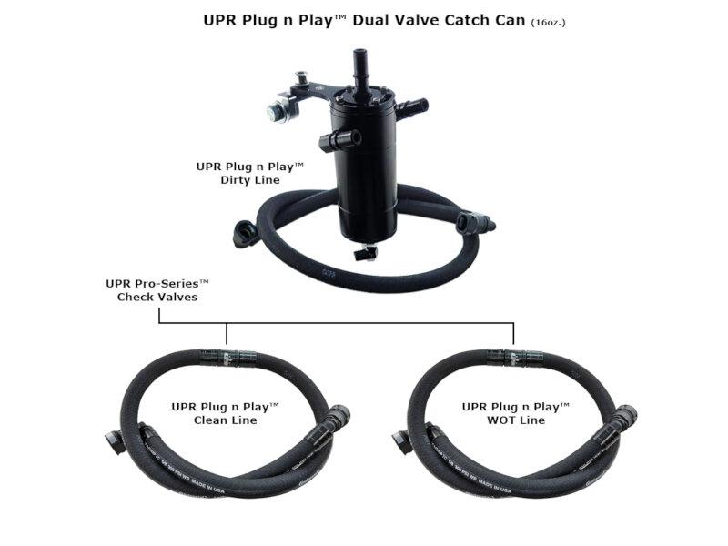 2017-2018 F150 & Raptor 3.5L EcoBoost UPR Dual-Valve Oil Catch Can 5030-221