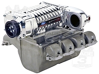 2004 F-150 / Mark LT 5.4L Whipple W140AX (2.3L) Intercooled Supercharger Kit (Polished)