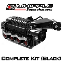 2010-2014 F-150 / F-250 / Raptor 6.2L Whipple 675HP W175AX (2.9L) Intercooled Supercharger Kit (Black)