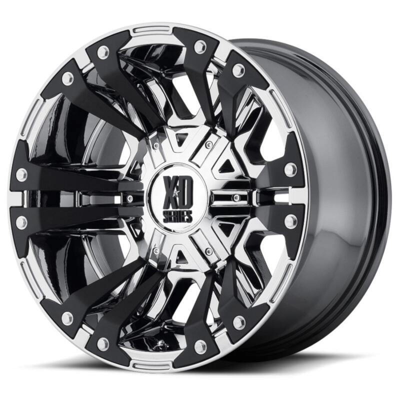 xd  matte black monster ii wheel mm offset xd