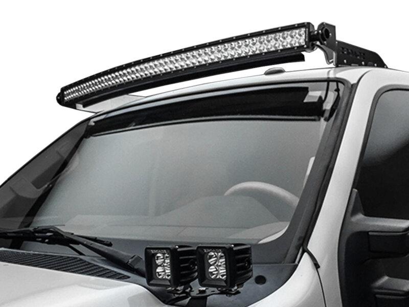 1999 2016 F250 Amp F350 Zroadz Front Roof Led Light Bar