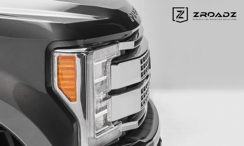 2017 2018 F250 Amp F350 Platinum Zroadz Oem Upper Grille