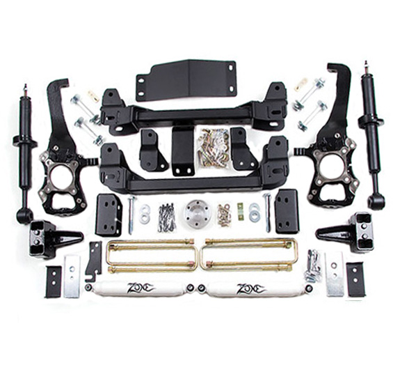 "2014 F150 4WD Zone Offroad 4"" Lift Kit"