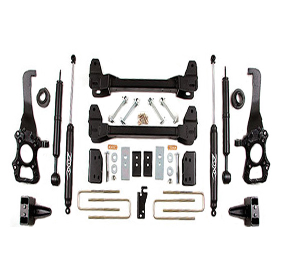 "2009-2013 F-150 2WD Zone Offroad 6"" Lift Kit"