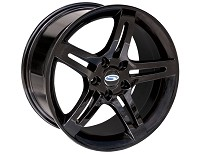 2005-2014 Mustang 18x9.5 Steeda Pentar Wheel (Black)
