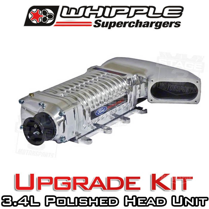Whipple Supercharger Replacement Parts: 2003-2004 SVT Cobra Whipple W210AX 3.4L Supercharger