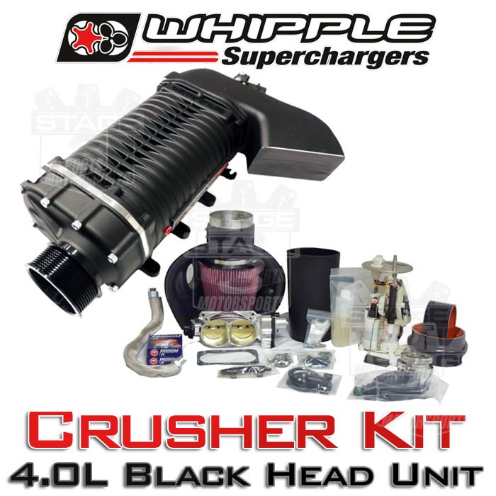 Whipple Supercharger Replacement Parts: 2003-2004 Mustang Cobra Whipple 4.0L Crusher Supercharger