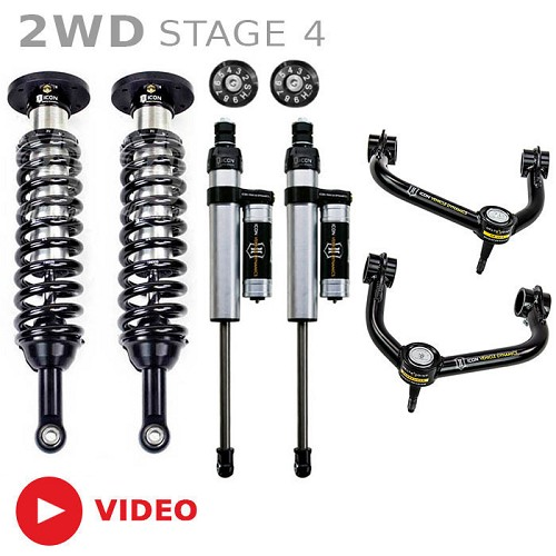 """Icon 4 5 Lift Kit Stage 4 For 2009 2012 Dodge Ram 2500: 2009-2013 F150 2WD ICON 0-3"""" Lift Kit"""