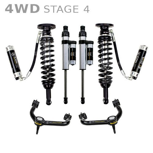"""Icon 4 5 Lift Kit Stage 4 For 2009 2012 Dodge Ram 2500: 2009-2013 F150 4WD ICON 0-3"""" Lift Kit"""