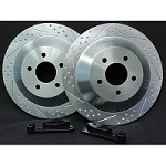 "1994-2004 Mustang GT Baer 13"" Brake Upgrade Kit (Rear)"
