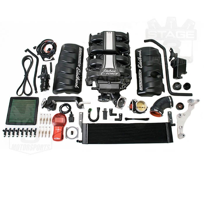 Ford Mustang Edelbrock Supercharger: 2010 Mustang GT Edelbrock E-Force Supercharger Kit 1582