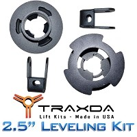 "2011-2014 Super Duty F250/F350 4x4 Traxda 2.5"" Leveling Kit"