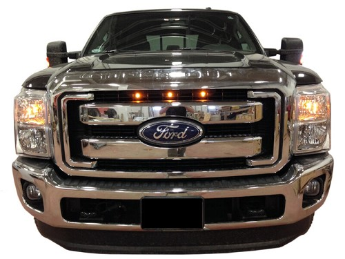 2011 2016 Super Duty Raptor Style Led Amber Grille Light