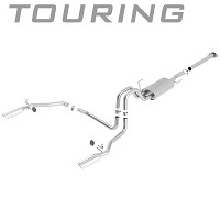 2011-2014 F150 3.5L V6 EcoBoost Borla Touring Cat-back Exhaust System