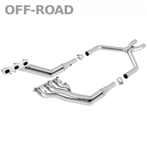 2011-2014 Mustang V6 Borla XR-1 Long Tube Headers / X-Pipe