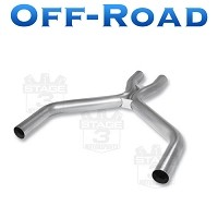 2011-2014 Mustang 3.7L V6 Borla Off-Road X-Pipe