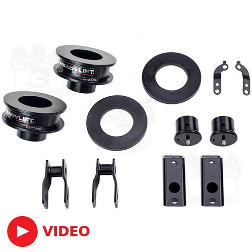 "2017 F250 & F350 4WD ReadyLIFT 2.5"" Front Leveling Kit"