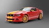 2013-2014 Mustang 3dCarbon 5-Piece/6-Piece Boy Racer Body Kit