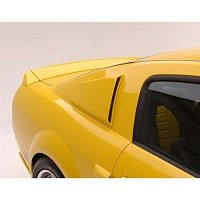 2005-2009 Mustang 3dCarbon Window Scoops