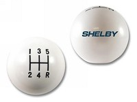 2005-2012 Mustang Shelby Shifter Knob (White Resin)